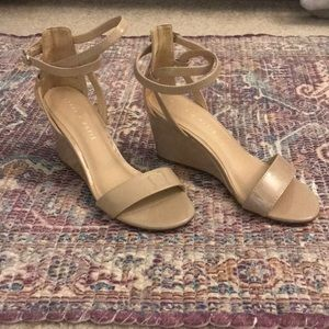 Never worn Kelly and Katie wedge